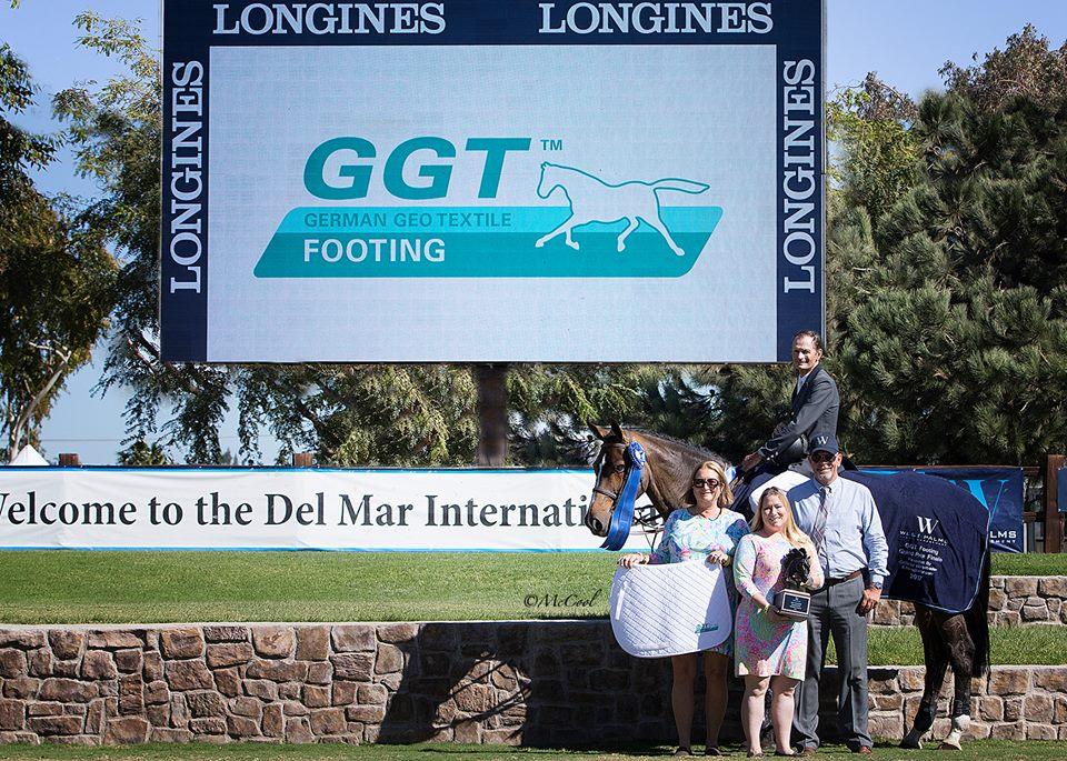 2017.10.23.99.99 Del Mar GGT CSI 3 Celebration Eric Navet & Basimodo McCool