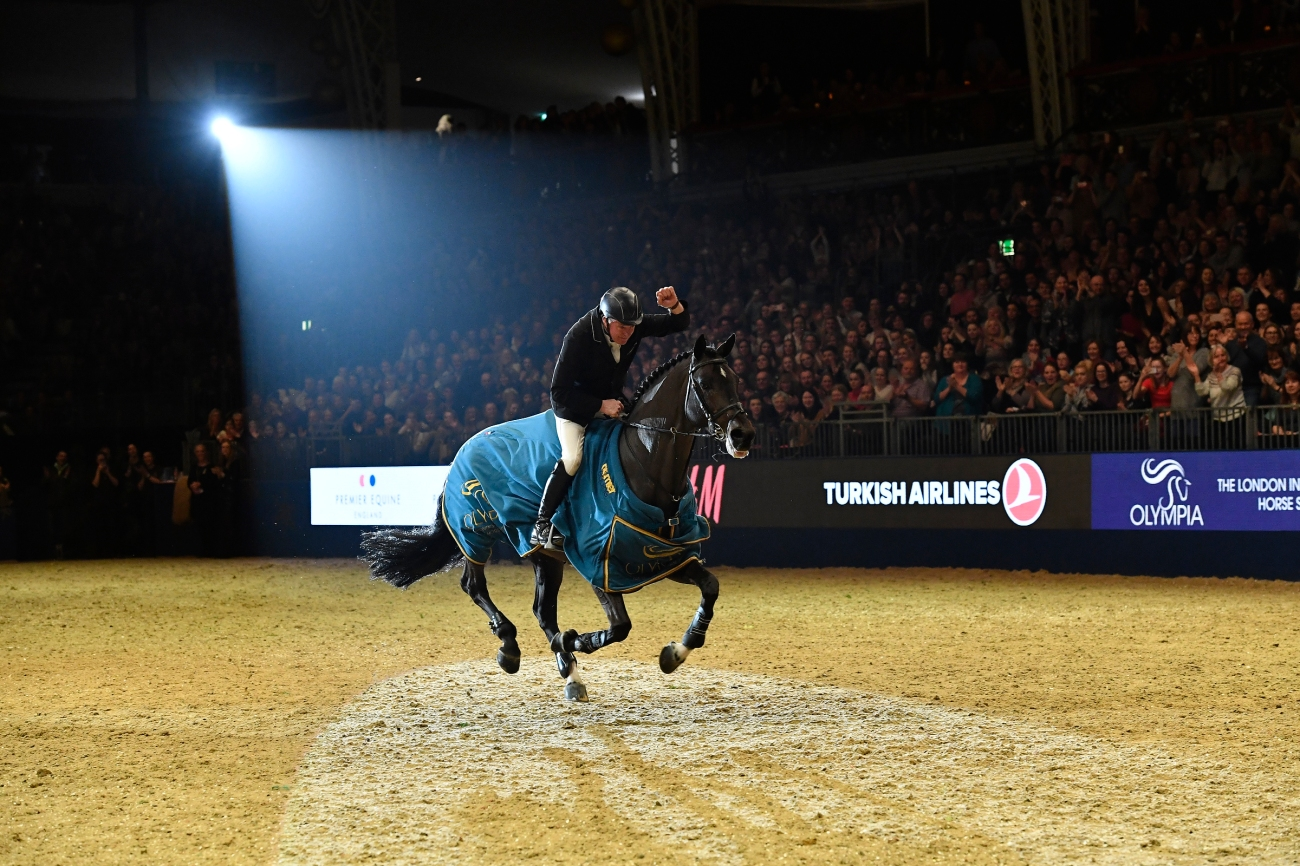 London International Horse Show Olympia 2017