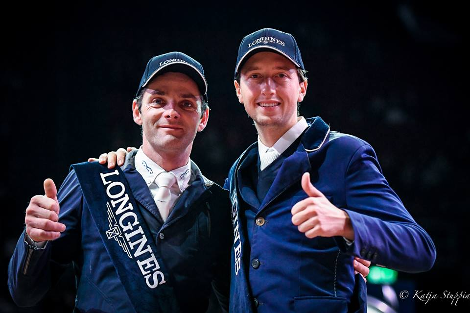 2018.01.15.99.99 Basel CSI 5 GP Werner Muff & Martin Fuchs Katja Stuppia