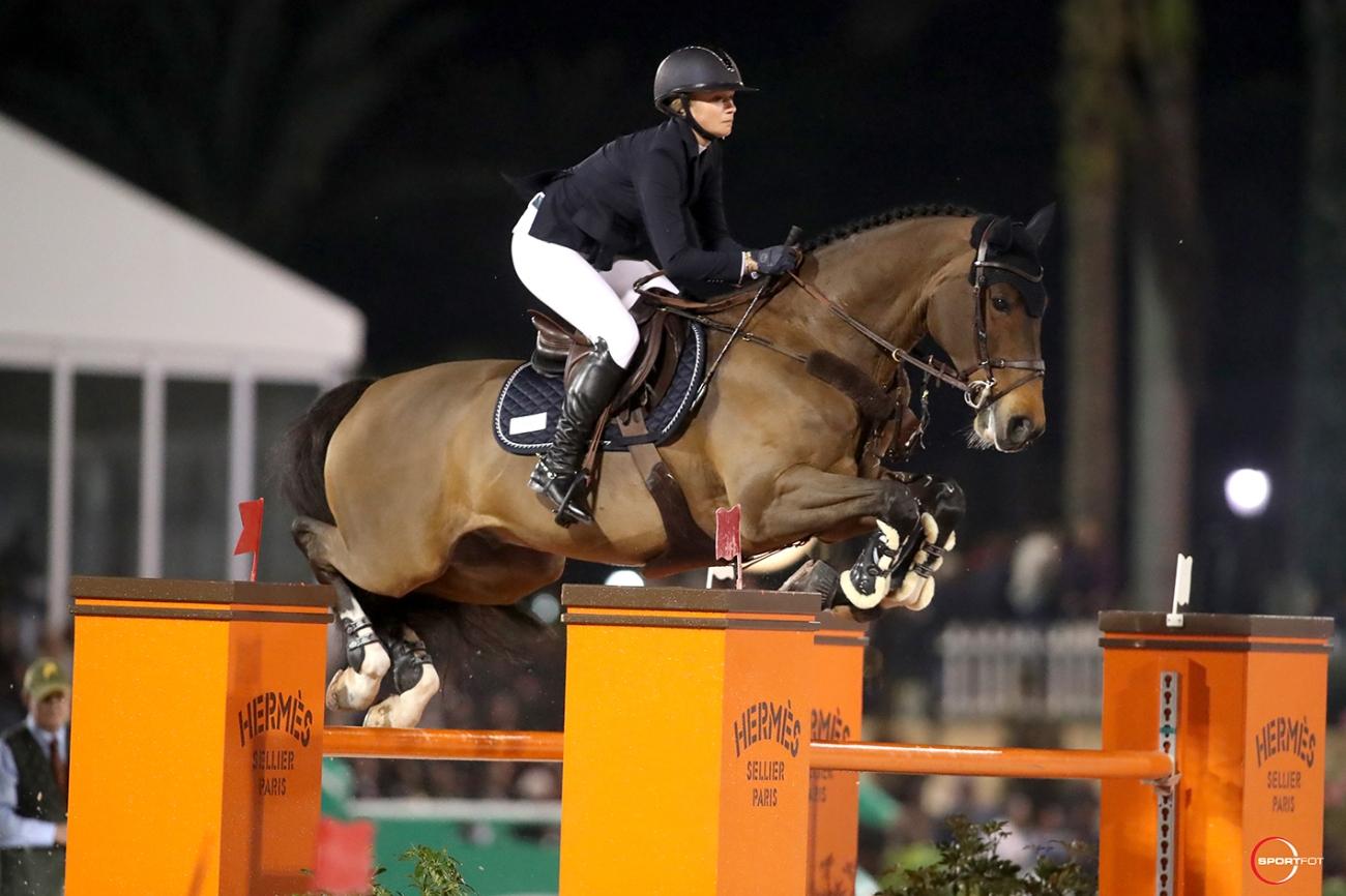 2018.01.21.99.99 WEF CSI 2 GP Lillie Keenan & Skyhorse Sportfot 2