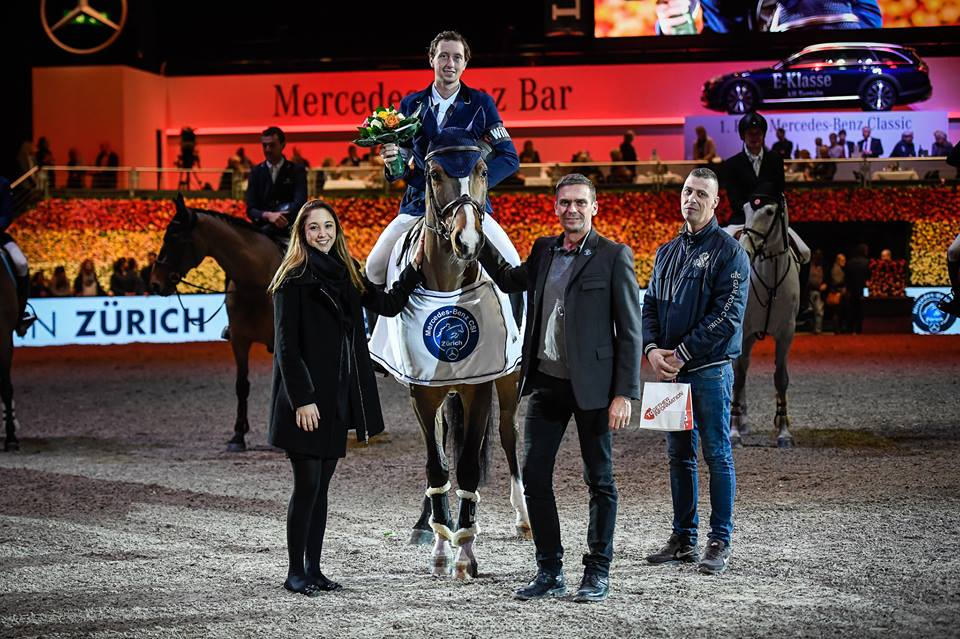 2018.01.27.99.99 Zurich CSI 5 Top 40 Cel Martin Fuchs & Dubai du Bois Pinchet Katja Stuppia