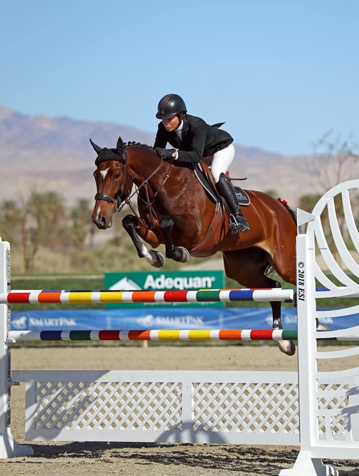 2018.02.28.99.99 Hits Ocala Osphos GP Nicole Shahinian-Simpson & Akuna Mattata ESI