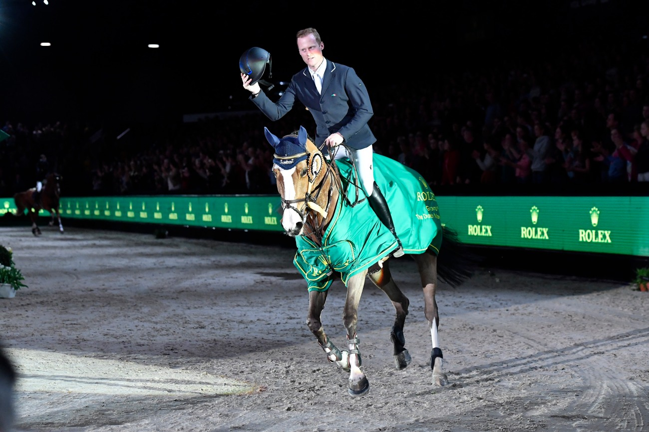 Niels  BRUYNSEELS riding Gancia de Muze