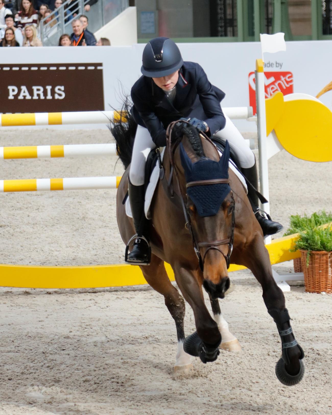 Talents Hermes vendredi jeunes saut d'obstacles