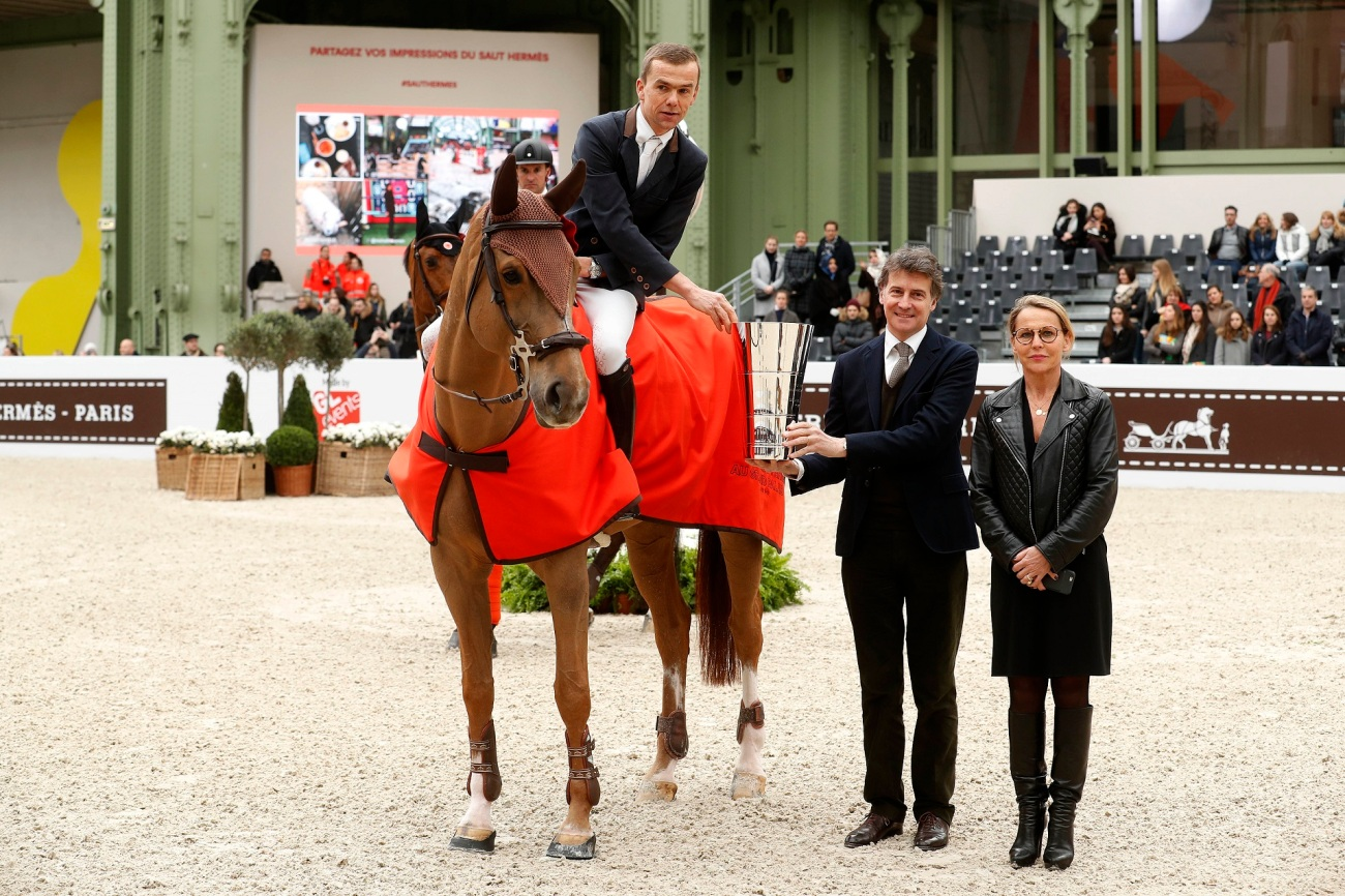 Prix de la Ville de Paris dimanche Saut Hermès saut d'obstacles