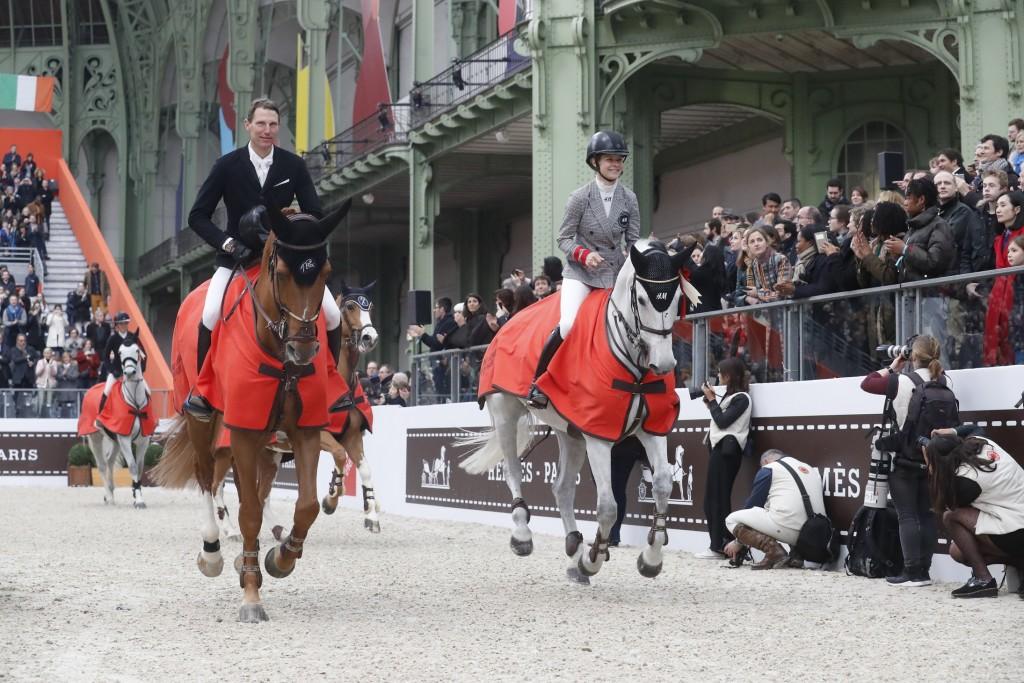 Remise des Prix samedi Saut Herms saut d'obstacles