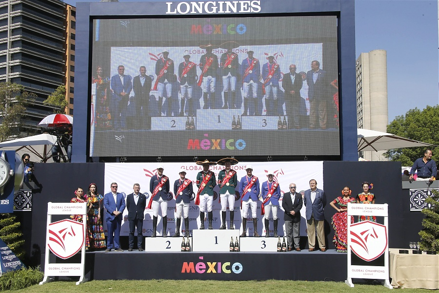 2018.03.25.99.99 GCL Mexico City CSI 5 Podium Celtics, Panthers & Valkenswaard GCL SG