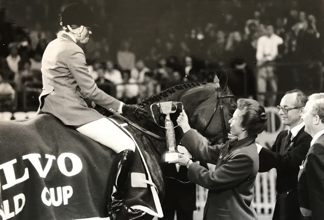 2018.04.07.99.99 FEI WC Final Paris Countdown Katharine Burdsall & The Natural FEI Hippofoto