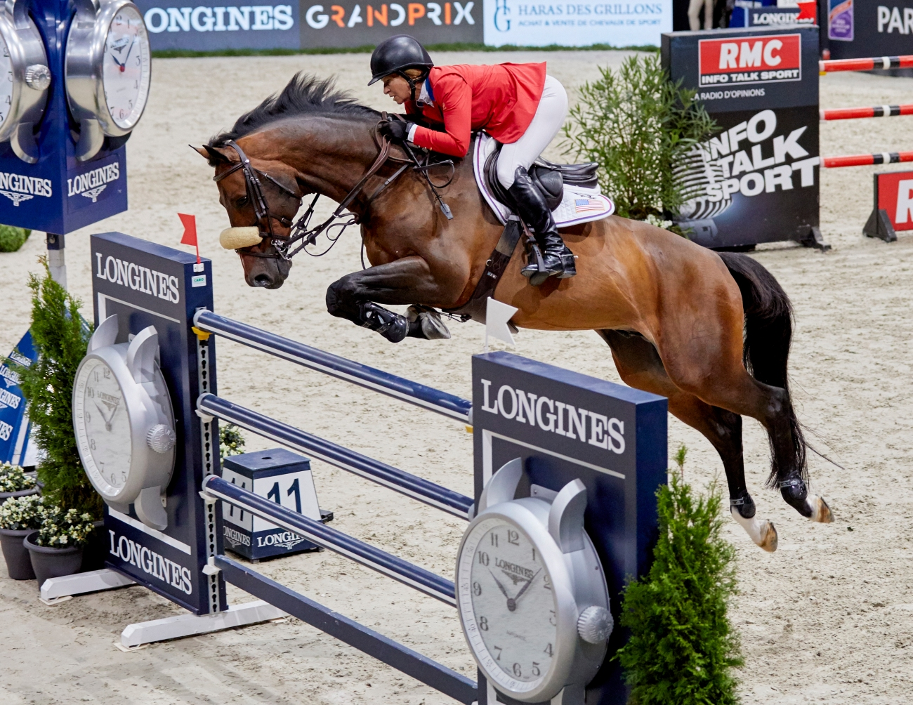 Longines FEI World Cup™ Jumping Finals Paris Friday 2018