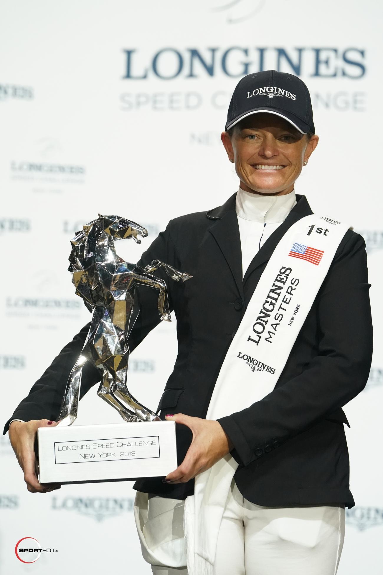 2018.04.28.99.99 Longines Masters NY Speed Challenge Cel Erynn Ballard & Fantast Sportfot