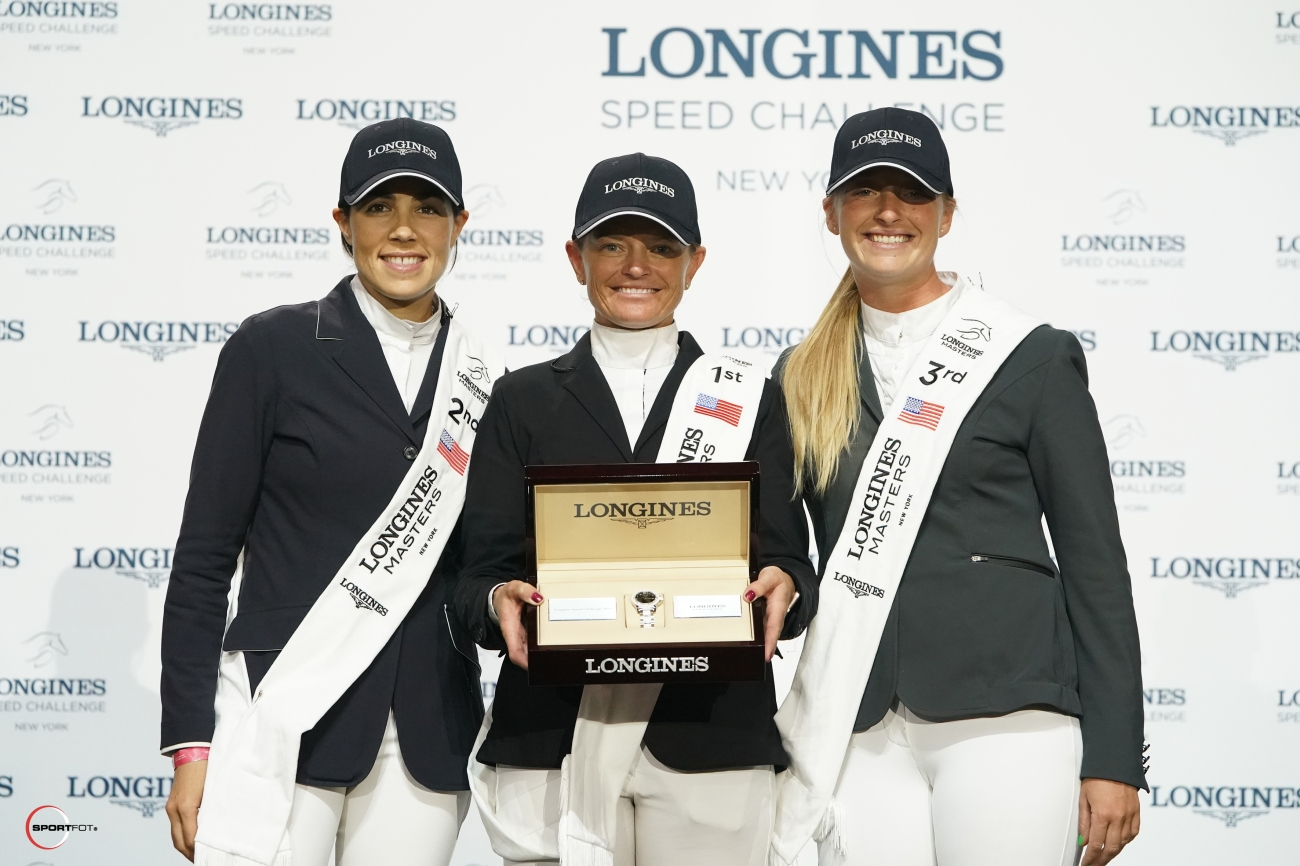 2018.04.28.99.99 Longines Masters NY Speed Challenge Top Three WRE