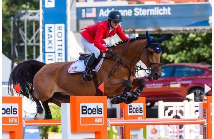 2018.06.22.99.99 Rotterdam CHIO Adrienne Sternlicht & Fantast CHIO Rotterdam