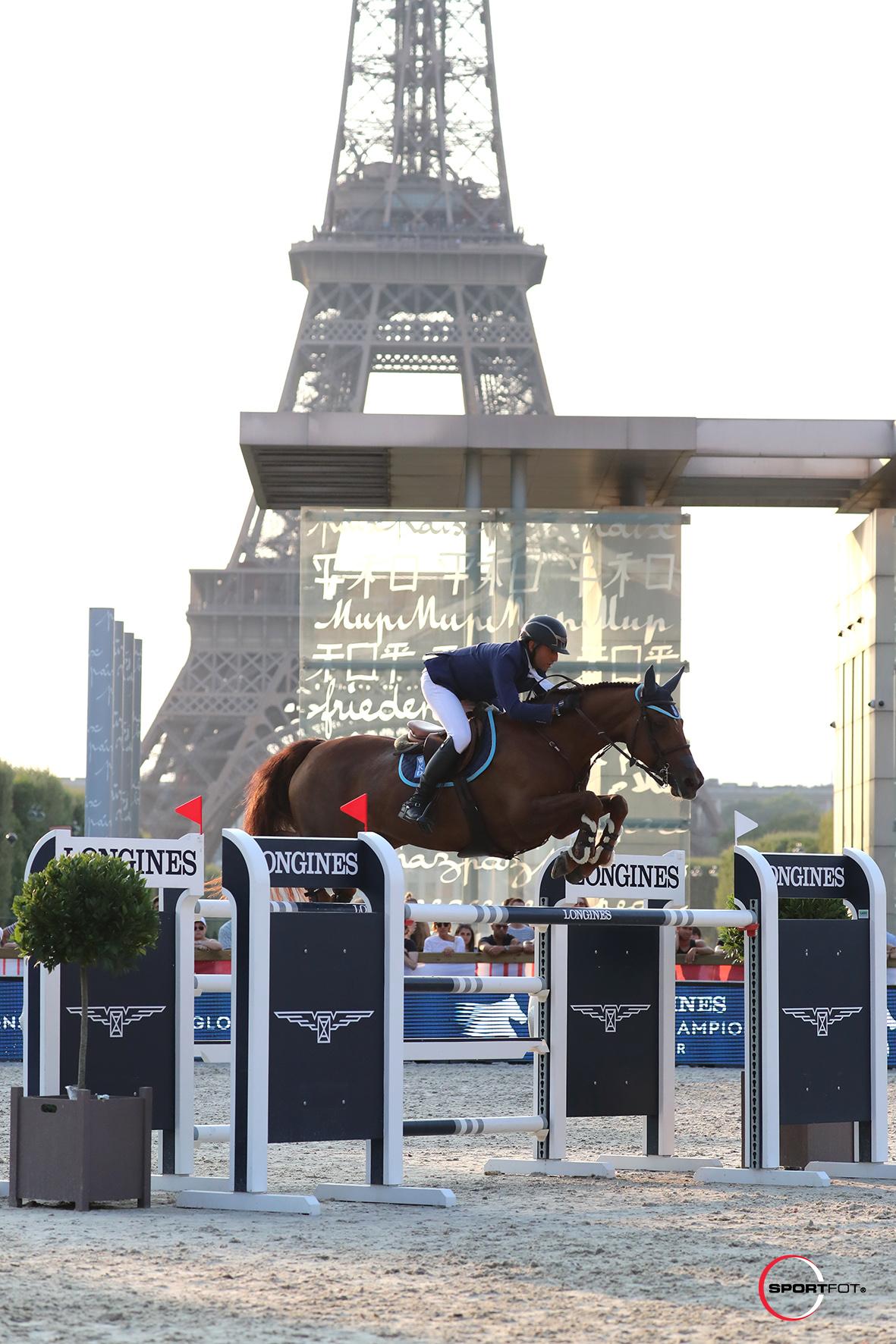 05/07/2018 ; paris ; Paris Eiffel Longines Global Champions Tour