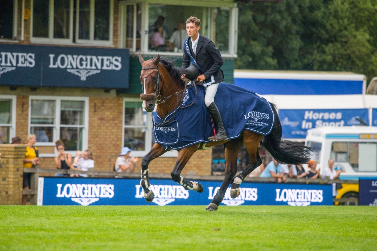 2018.07.27.99.99 Hickstead CSIO 5 GP Moments Kevin Jochems & Captain Cooper Nigel Goddard 2.jpg