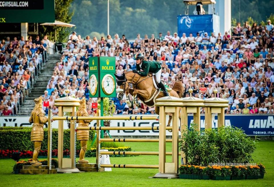 2018.08.04.99.99 CHIO Aachen Rolex GP Stores Darragh Kenny & Babalou 41 Two Swans SB 2