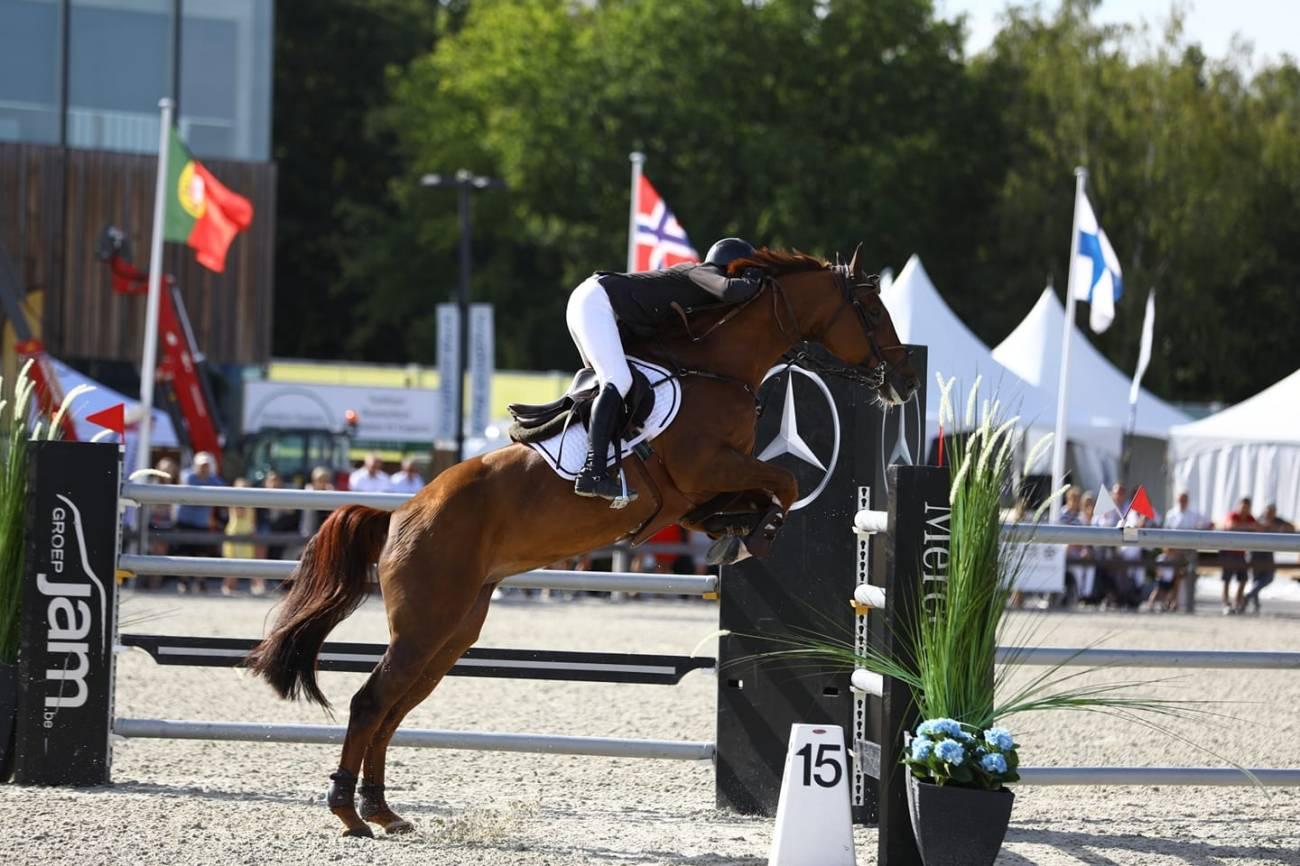 2018.08.16.99.99 Sentower Park CSI 3 GP Katrin Eckermann & Caleya Ahmed Almawali