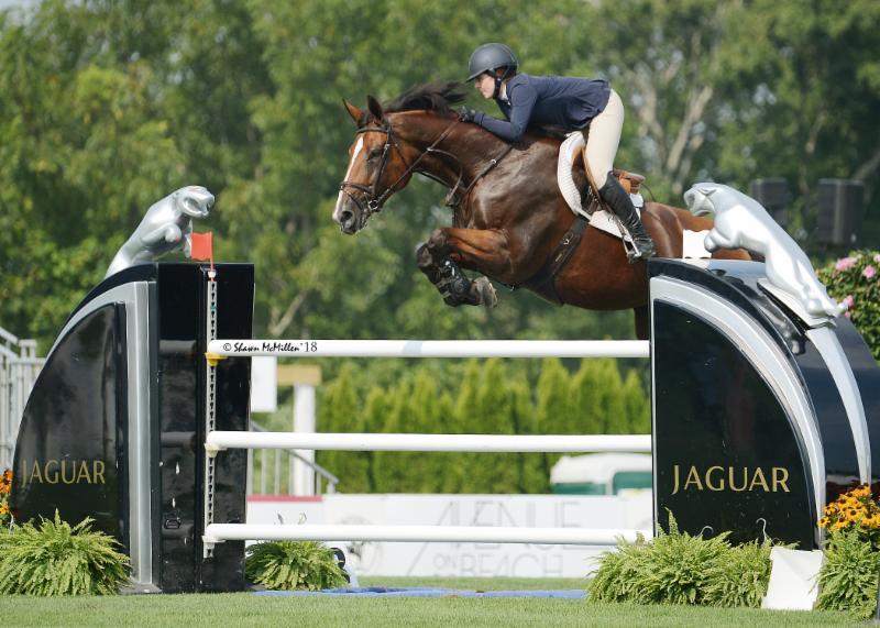 2018.08.30.99.99 Hampton Classic Jaguar Kelli Cruciotti & Grandy de Laubry Shaw McMillen