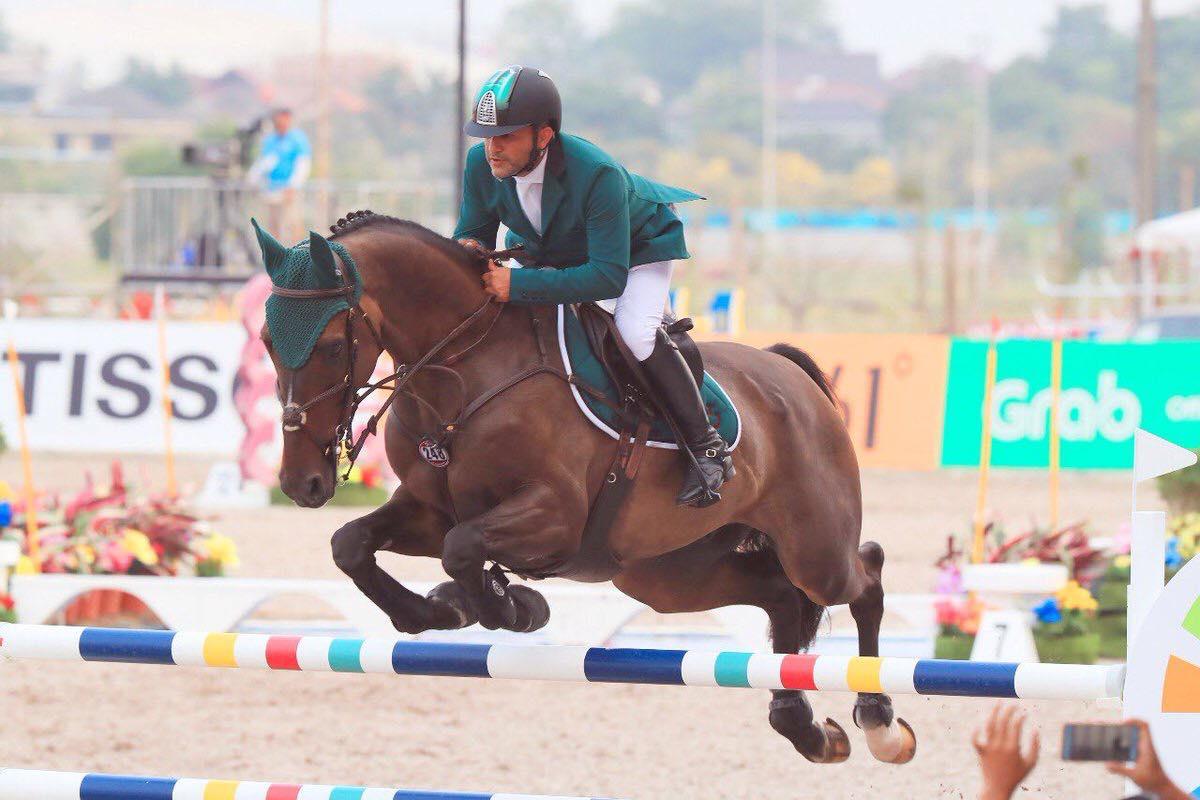 2018.09.05.99.99 Asian Games Team Saudi Arabia Ramzy Hamad Alduhami Sami Alduhami