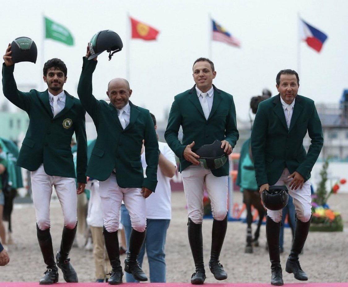 2018.09.05.99.99 Asian Games Team Saudia Arabia