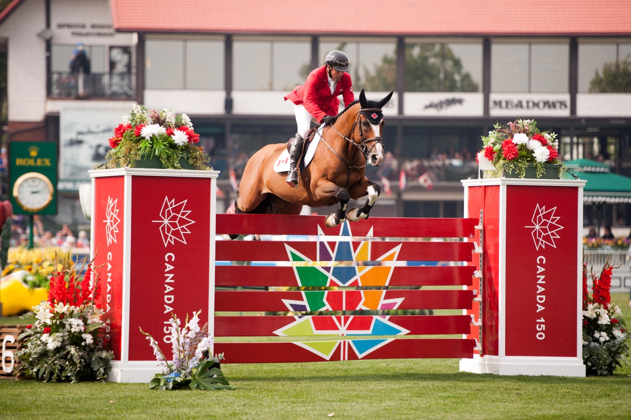 2018.09.05.99.99 Spruce Meadows CSIO 5 Week Preview Eric Lamaze & Fine Lady 5 Rolex Kit Houghton.jpg