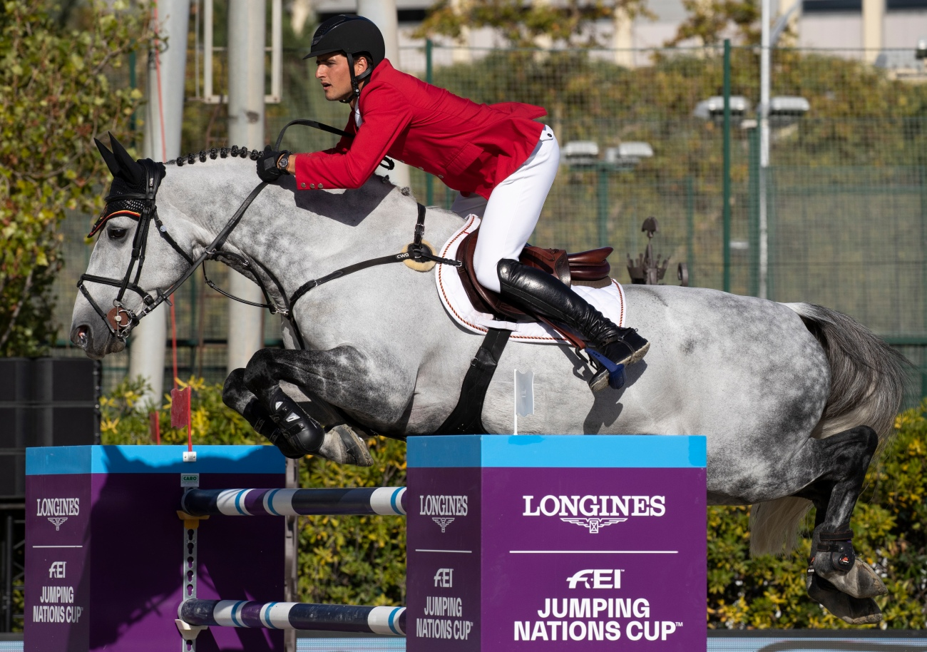 Longines FEI Jumping Nations Cup Final equestrain event in Barcelona