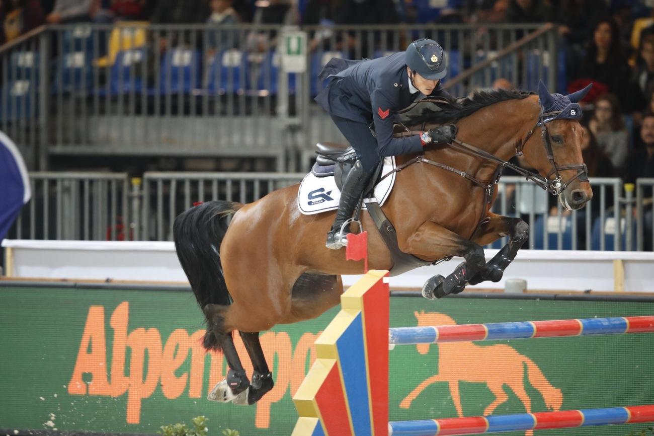 2018.10.28.99.99 Jumping Verona CSI 5 Safe Lorenzo de Luca & Evita van't Zaggehof JV SG.JPG