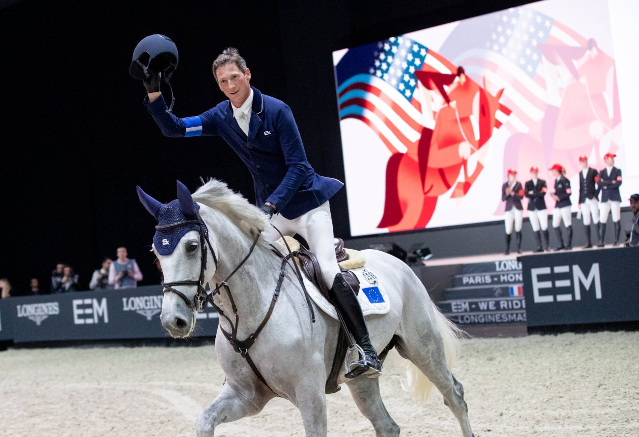 2018.12.03.99.99 Longines Masters Paris CSI 5 Riders Cup Daniel Deusser & Jasmien v. Bisschop