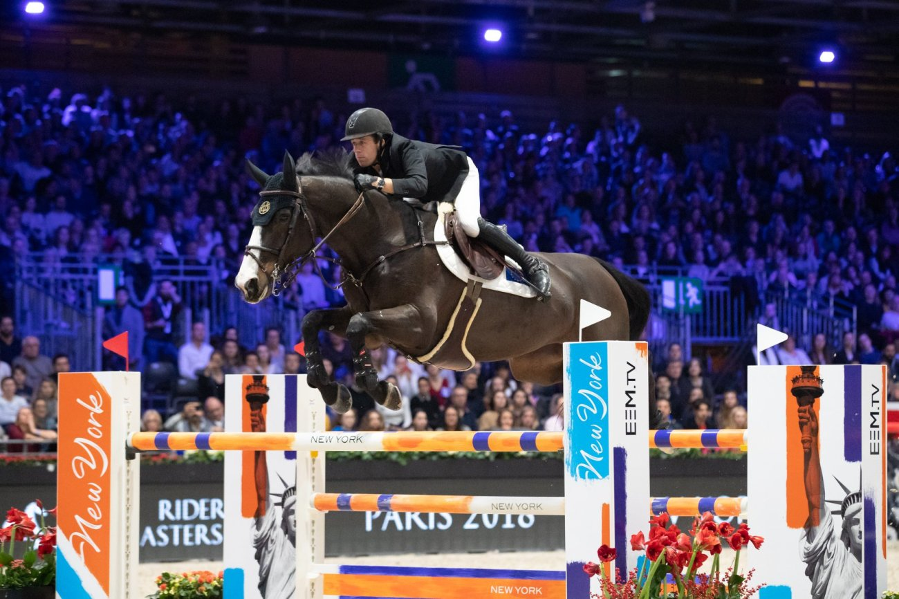 2018.12.03.99.99 Longines Masters Paris Riders Cup Maikel vd Vleuten & Idi Utopia