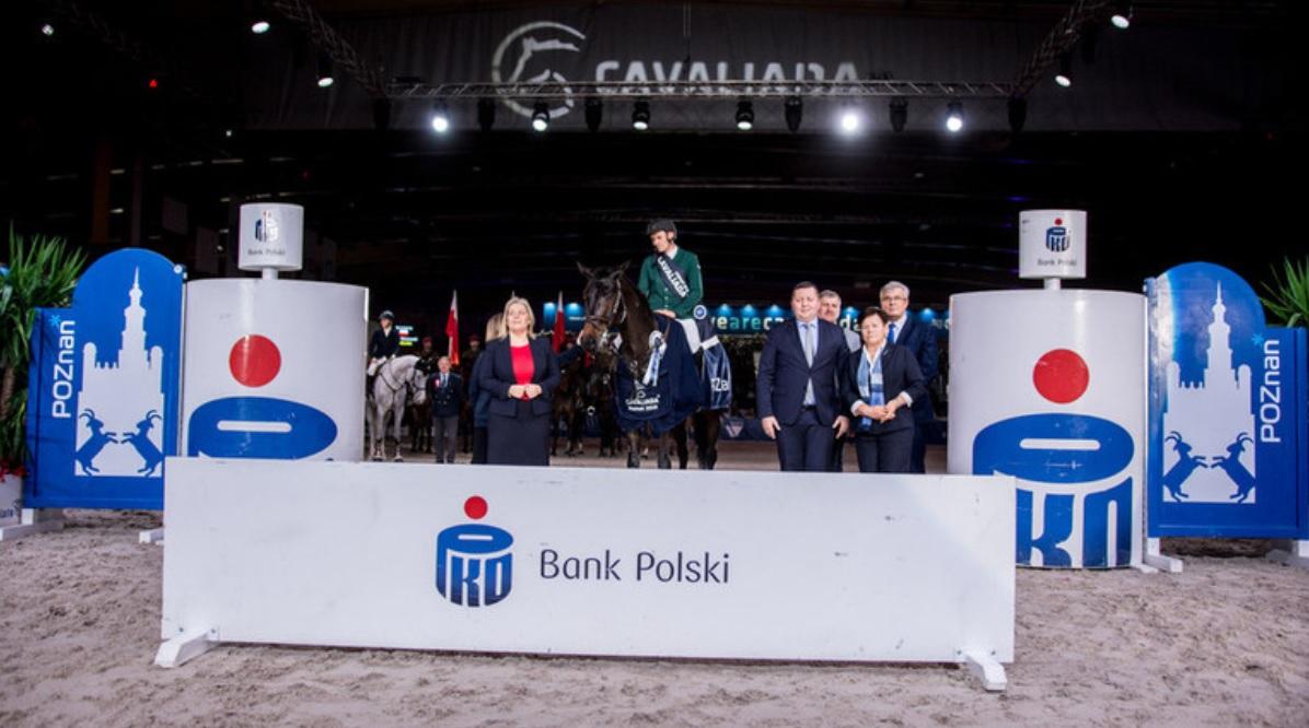 2018.12.04.99.99 Cavaliada Poznan CSI 4 FEI WC GP Podium Jaroslaw Skrzyczynski & Chacclana CT TE