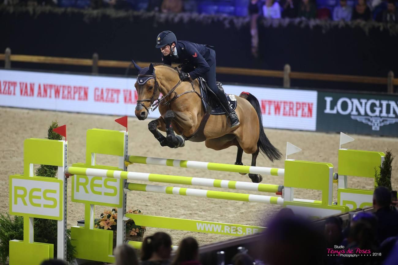2018.12.29.99.99 Mechelen CSI 5 KBC Lorenzo de Luca & Evita van't Zoggehof JM
