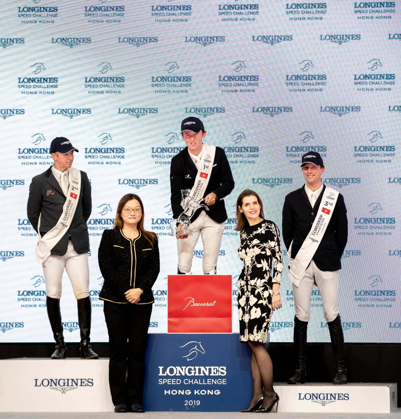 2019.02.17.99.99 Longines Masters HKG CSI 5 Podium Bertram Allen & Christy Jnr EEM JR