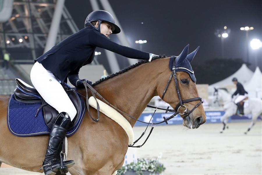 2019.03.02.99.99 LGCT Doha CSI 5 1.55m Anna Kellnerova & Catch Me If You Can OLD LGCT SG