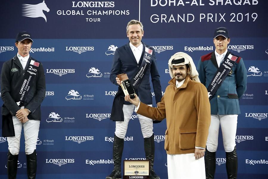 2019.03.03.99.99 LGCT Doha CSI 5 GP Podium LGCT SG