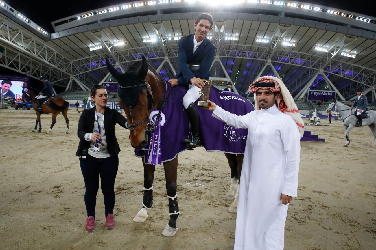 2019.03.13.99.99 CHI Al Shaqab 5 Speed Cel Steve Guerdat & Hannah CAS