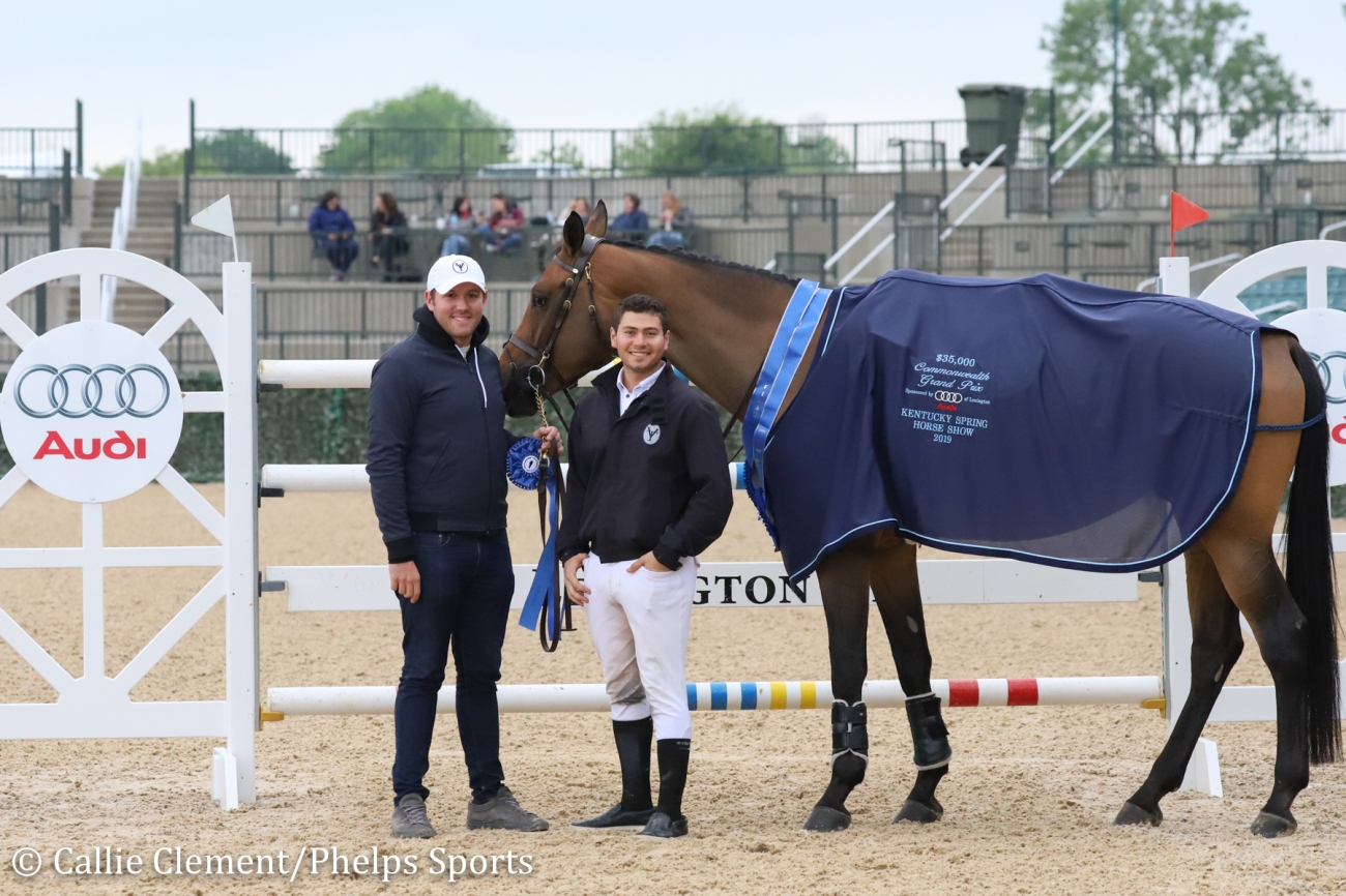 2019.05.13.99.99 Lexington CSI 3 GP Teddy Vlock & Scarlett du Sart Z Callie Clement