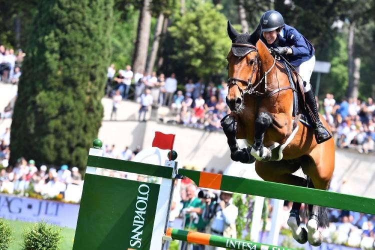 2019.05.25.99.99 Rome CSIO 5 NC Angelie von Essen & Luikan Q CONI Simone Ferraro