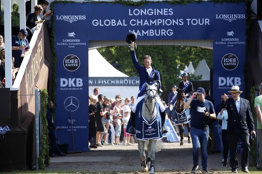 2019.06.02.99.99 LGCT Hamburg CSI 5 GP Cel Daniel Deusser & Jasmien vd Bischop LGCT SG 2