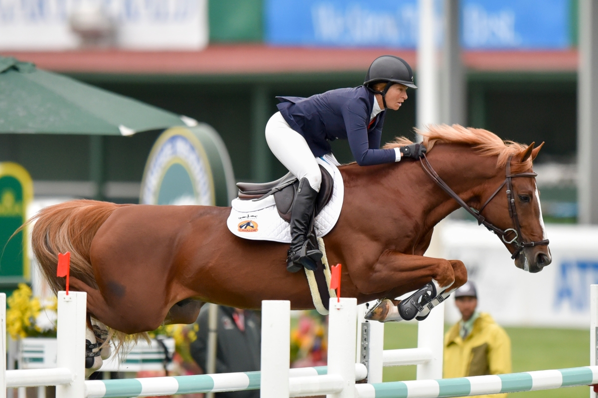 Beezie Madden Amp Darry Lou Dominate 133 700 Atb Financial Cup Csi 5 At Spruce Meadows