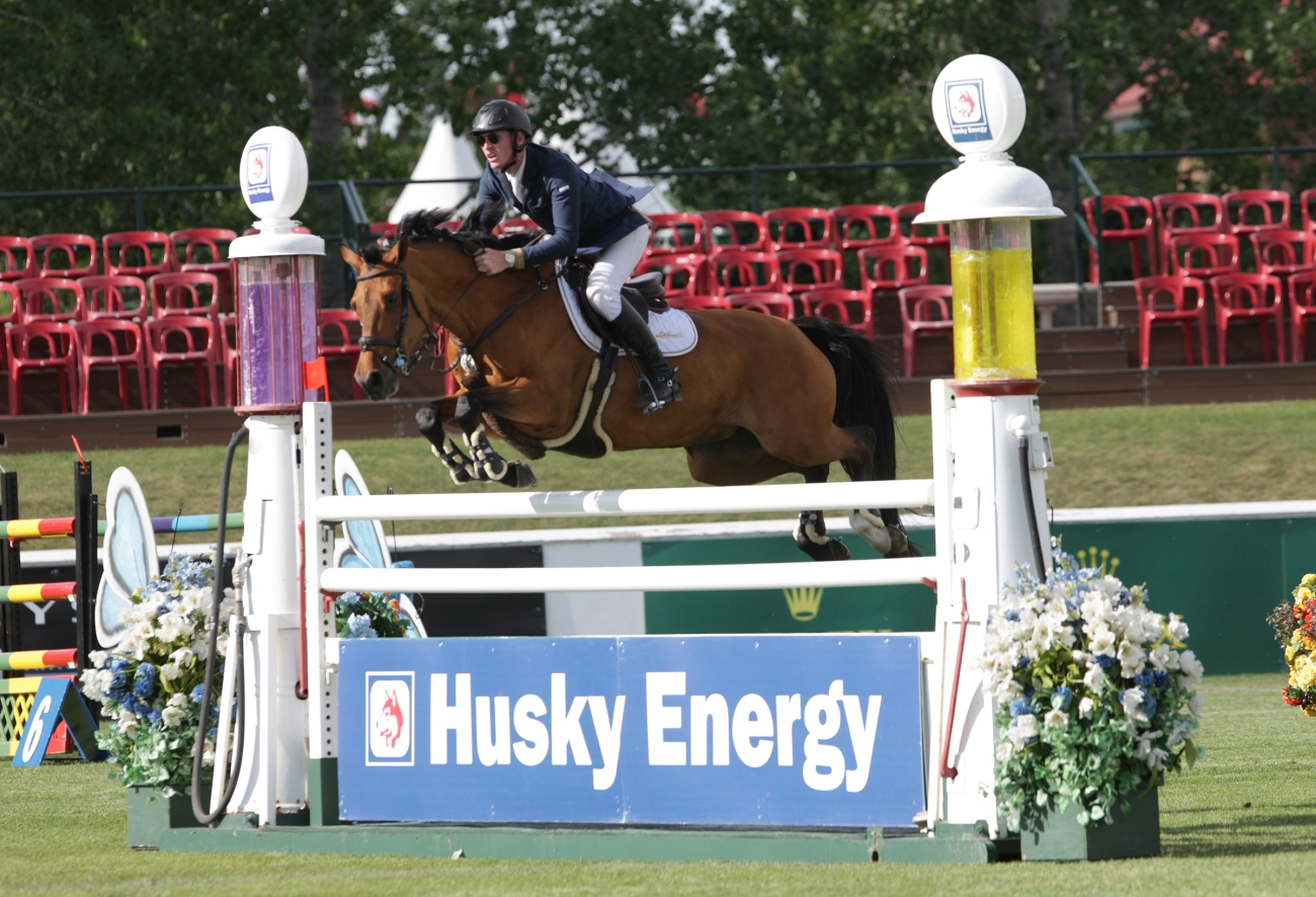Daniel Coyle of IRL riding Cita wins the Husky Energy Classic