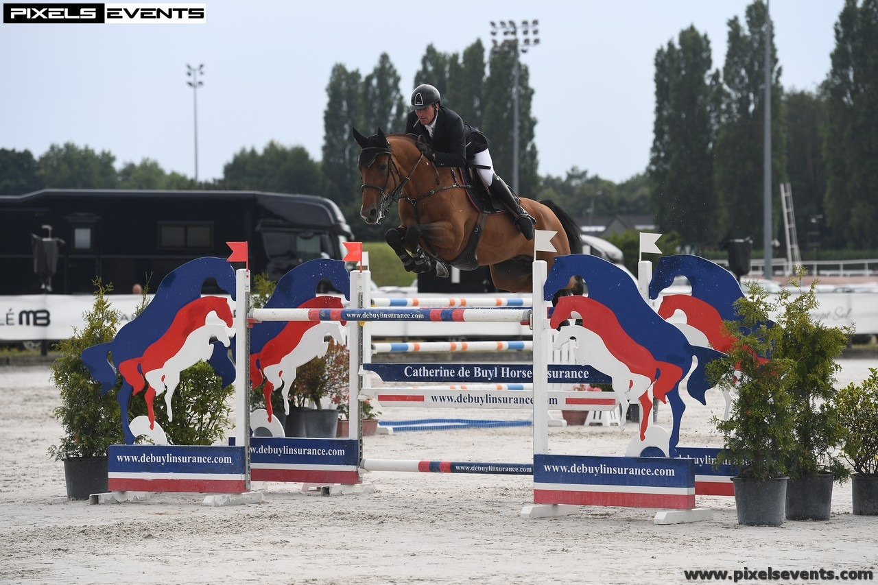2019.07.09.99.99 Wallonie CSI 3 GP Guy Williams & Rouge de Ravel Pixel