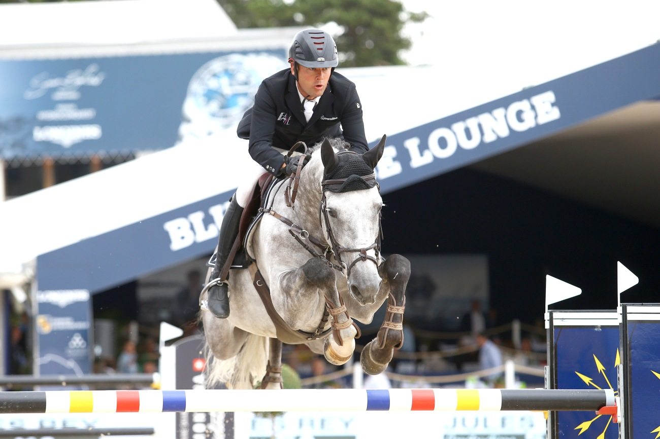 Marc Bettinof Germany OF GERMANY riding Aston des Etisses
