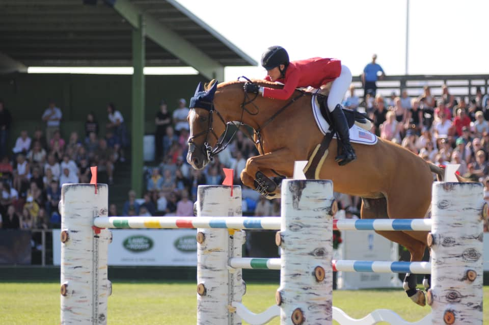 2019.07.12.99.99 Falsterbo CSIO 5 Qualifier Jessica Springsteen & Volage du Val Henry FHS 2