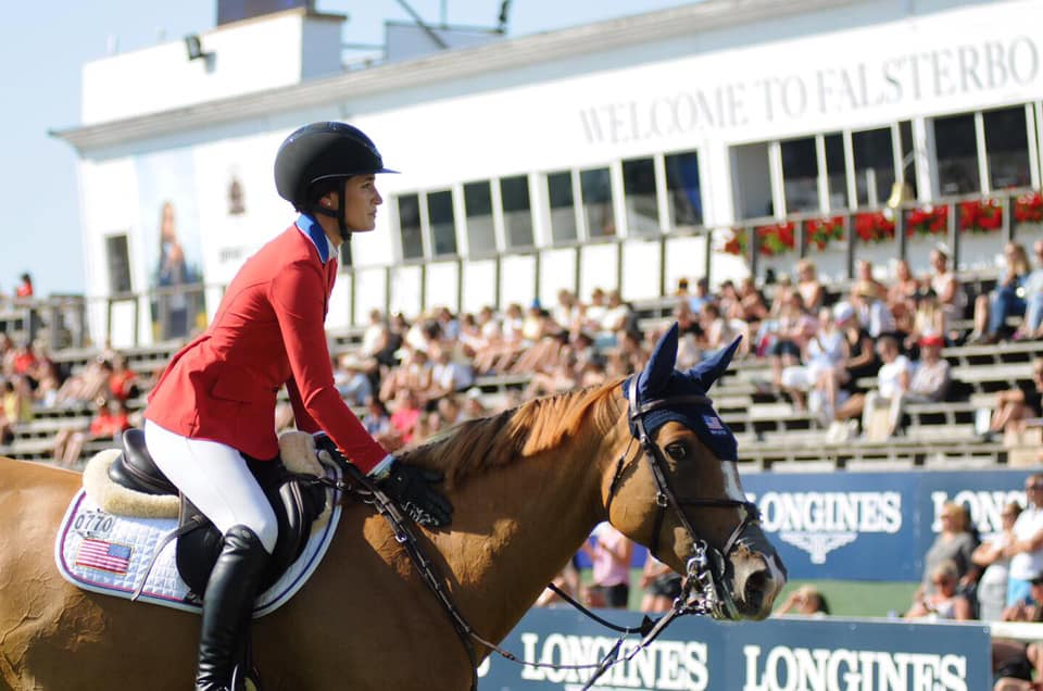 2019.07.12.99.99 Falsterbo CSIO 5 Qualifier Jessica Springsteen & Volage du Val Henry FHS 3