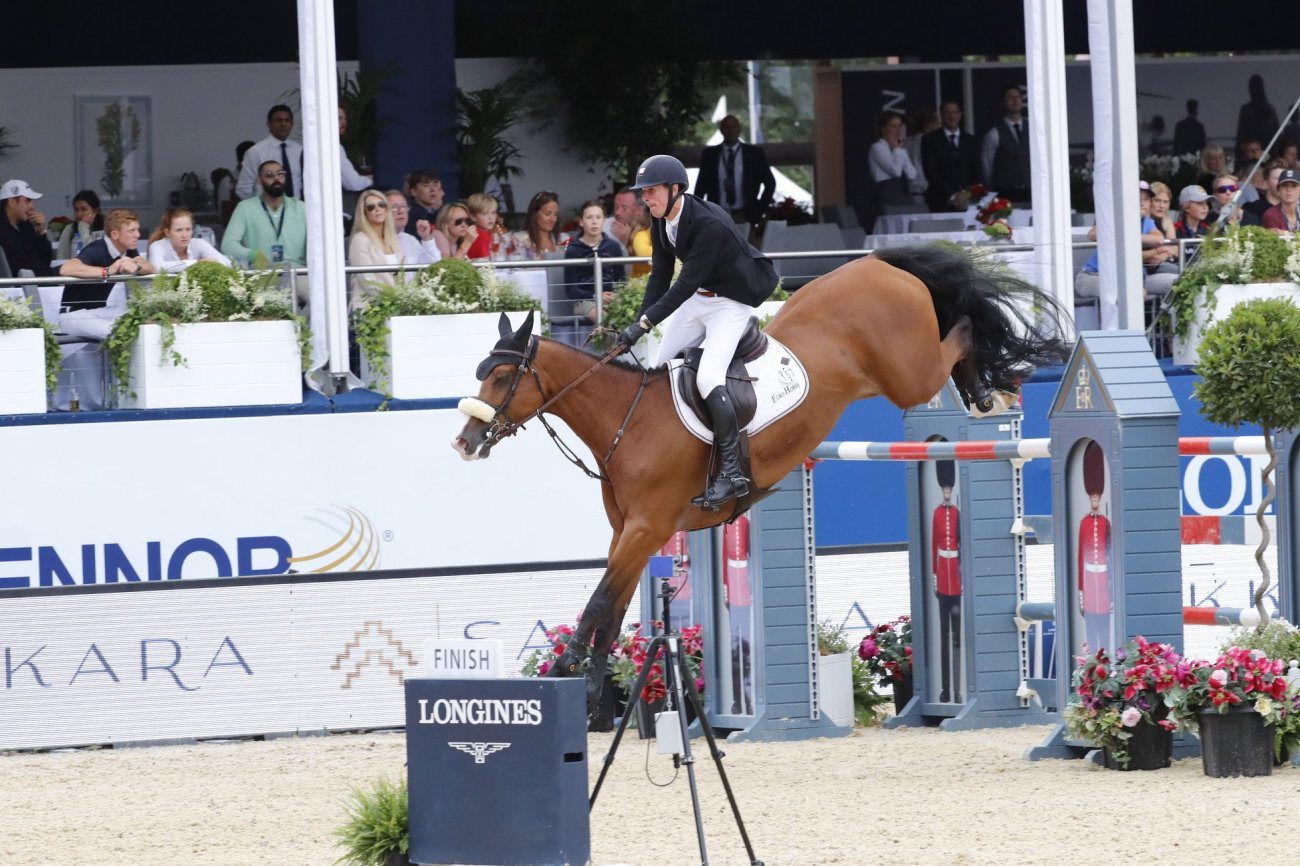 2019.08.05.99.99 LGCT London CSI 5 Jos Verlooy & Jacobien Dwerse Hagen LGCT 2