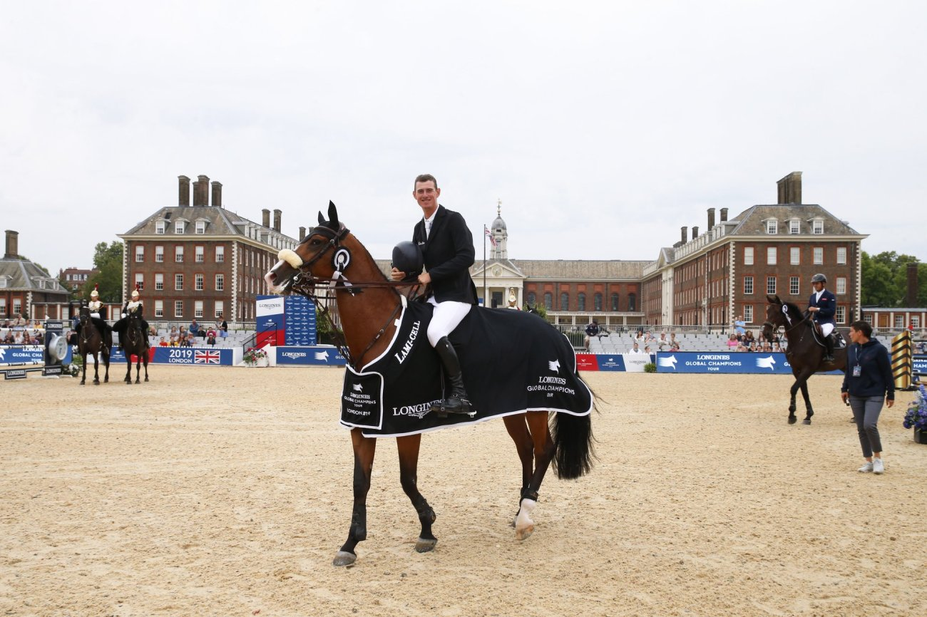 2019.08.05.99.99 LGCT London CSI 5 Jos Verlooy & Jacobien Dwerse Hagen LGCT 4