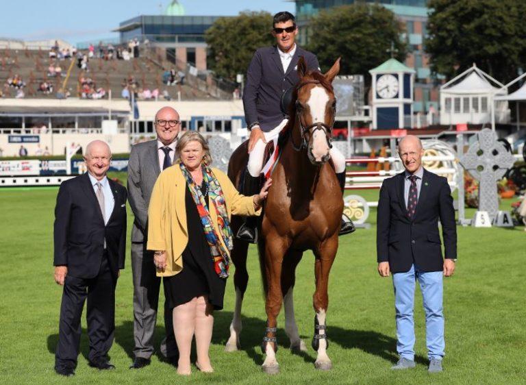 2019.08.08.99.99 Dublin CSIO 5 Classic Paul O'Shea & Imerald van'T Voorhof Laurence Dunne