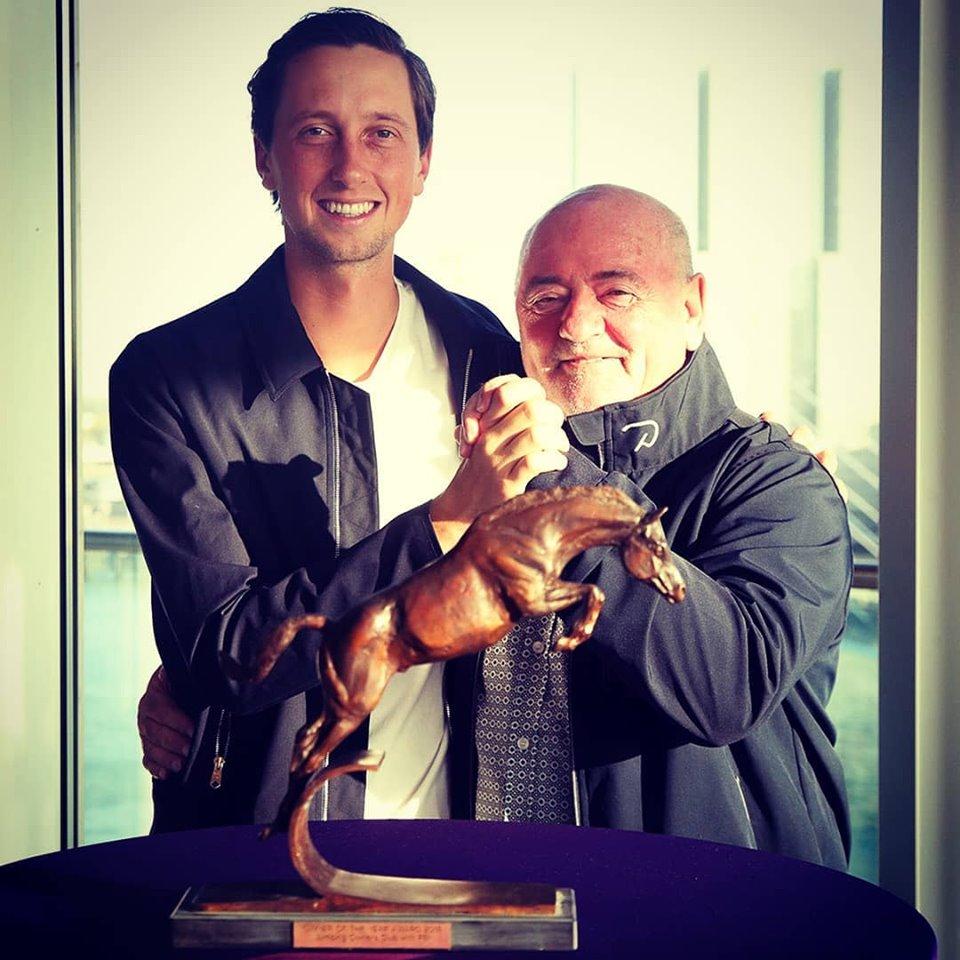 2019.08.23.99.99 Awards Martin Fuchs & Luigi Baleri Owner of the Year JOC Claire Simler