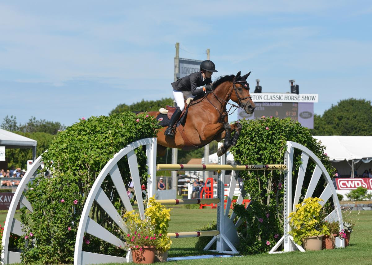 2019.09.01.99.99 Hampton Classic CSI 4 GP Lucy Deslauriers & Hester Shawn McMillen