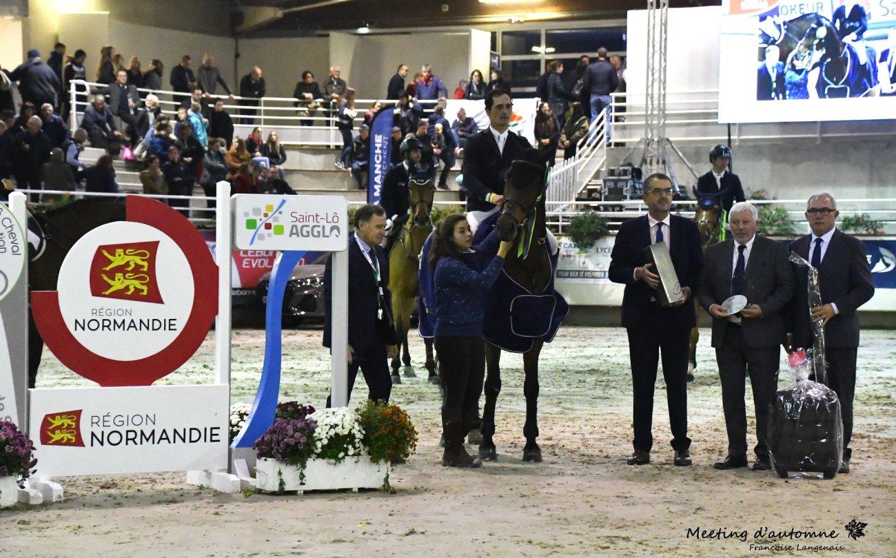2019.10.28.99.99 St Lô CSI 3 GP Cel Duarte Romao & Edesas Kzomm vd Wittemoere Francoise Langenois