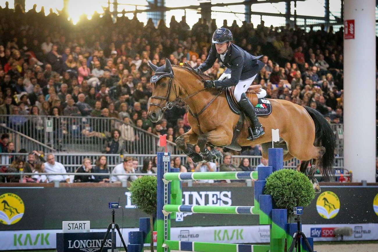 Longines FEI Jumping World Cup™ Verona, Darragh Kenny (IRL) on Romeo,
